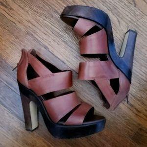 ALDO Wooden Platform Sandals